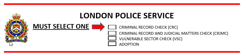 Record Checks - London Police Service